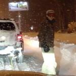 Randolf goes Snowboarding