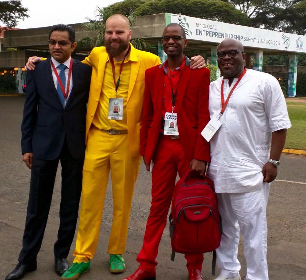 Randolf at Global Entrepreneurship Summit 2015 in Kenya