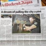 A dream of pulling the city a pint